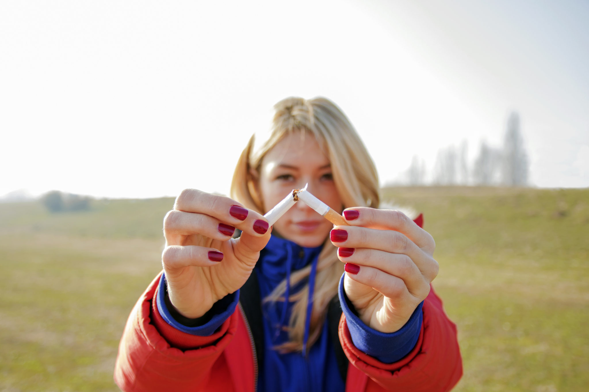 Threat of vision loss a motivator to quit smoking