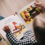 Picking up a print book opens up more engagement with toddlers